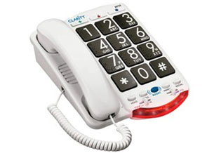 Clarity Amplified Telephone ? The Talking Phone
